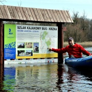 Powódź nad Bugiem - wiosna 2013