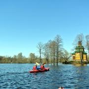 Powódź 2013 - rozlewiska Bugu