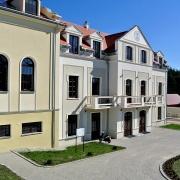 Widok na Dom Pielgrzyma.