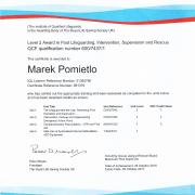 Certyfikat NPLQ