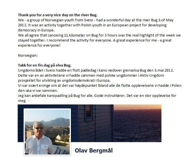 Referencje z Norwegii