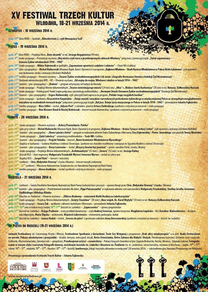 FESTYWAL_3_KULTUR_2014-program
