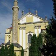 Kamieniec - katedra z minaretem (ś.ś. Piotra i Pawła)