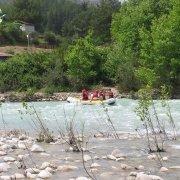 Turcja, rzeka Köprülü 2012