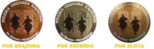 Poleskie odznaki kajakowe
